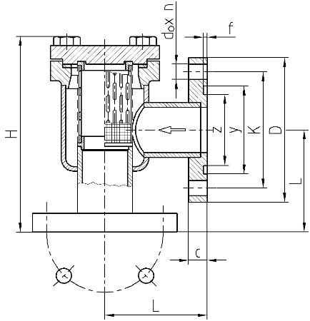 Preliminary filters FWKk - scheme