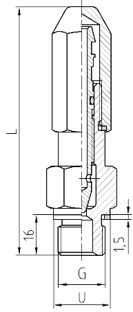 Vent valve ZOAg - scheme